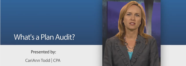 Plan Audit Series: What's a Plan Audit? (Video 1)